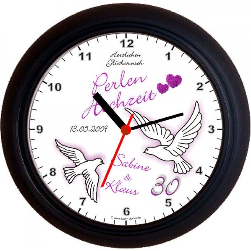 Lucky Clocks Wanduhren Personalisierte Geschenke Fur Jeden