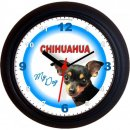 Tieruhr Chihuahua dunkel